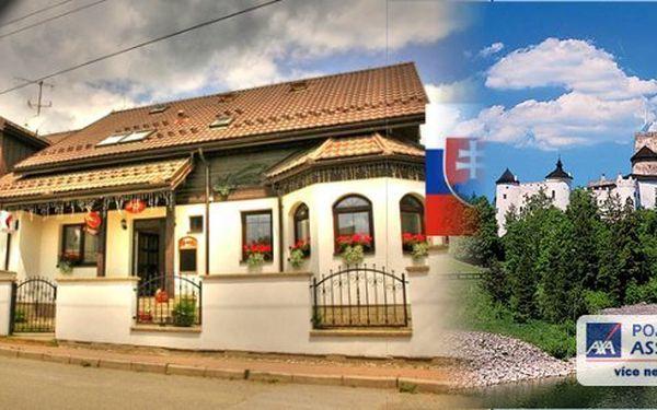 SLOVENSKO, Vysoké Tatry, lázně Vyšné Ružbachy - wellness pobyt pro 2 osoby na 3 dny v Penzionu Glinec s polopenzí. Sauna, vířivka, vstup do termálního jezera, volně přístupné léčivé prameny. Načerpejte energii v překrásné krajině Zamagurských vrchů.