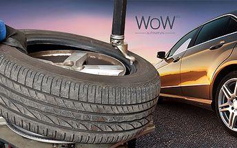 Prezutie pneumatík a kompletná vizuálna kontrola vozidla