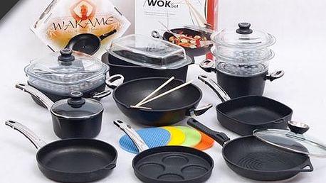 Titanové nádobí BAF je nejkvalitnější titanové nádobí v EU. My vám nyní přinášíme 30% slevu na toto luxusní nádobí !