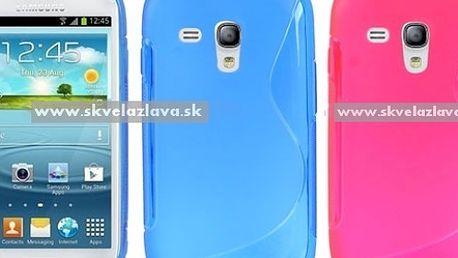 S line obal z odolného a pružného TPU materiálu určený pre Samsung Galaxy S3 mini / i8190 v šiestich farbách za 3,90 € vrátane poštovného!