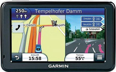 """GPS Garmin Nuvi 2595 Lifetime - fulltextové vyhledávání na 5"""" displeji, inovované uživatelské rozhraní, otočný displej."""