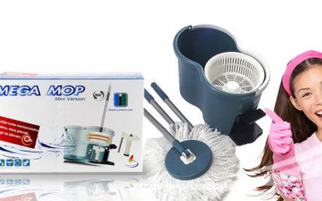 Rotačný mop - šikovný pomocník, ktorý šetrí Váš čas a energiu len za 15.99 €! Na výber z dvoch farieb! Vhodný pre suché aj mokré použitie! Zľava 56%!