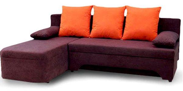 Rozkládací sedačka – 3 typy a mnoho barev
