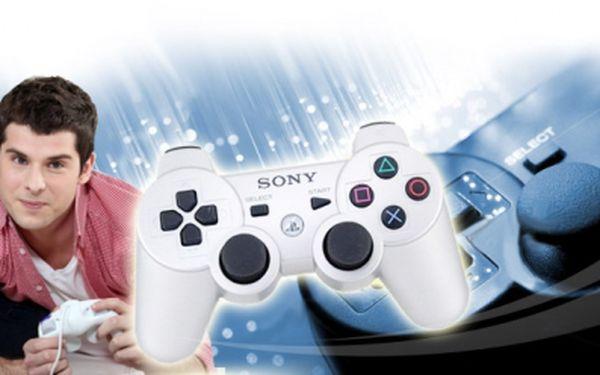 Ovládněte virtuální svět BEZDRÁTOVÝM OVLADAČEM SONY SIXAXIS pro Playstation 3 jen za 675 Kč včetně poštovného! Dokonalé zážitky ze hry se slevou 55%!
