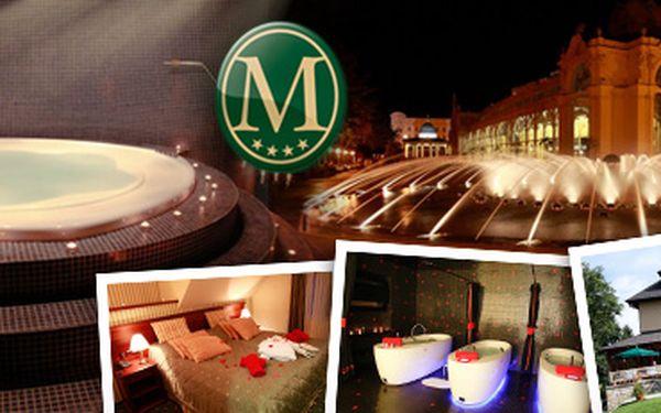 Užijte si luxusní wellness pobyt v Mariánských Lázních s 62% slevou!