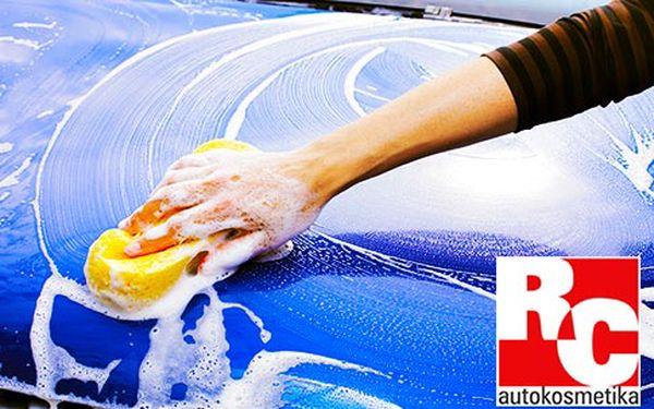 Kompletní ruční mytí a luxování auta