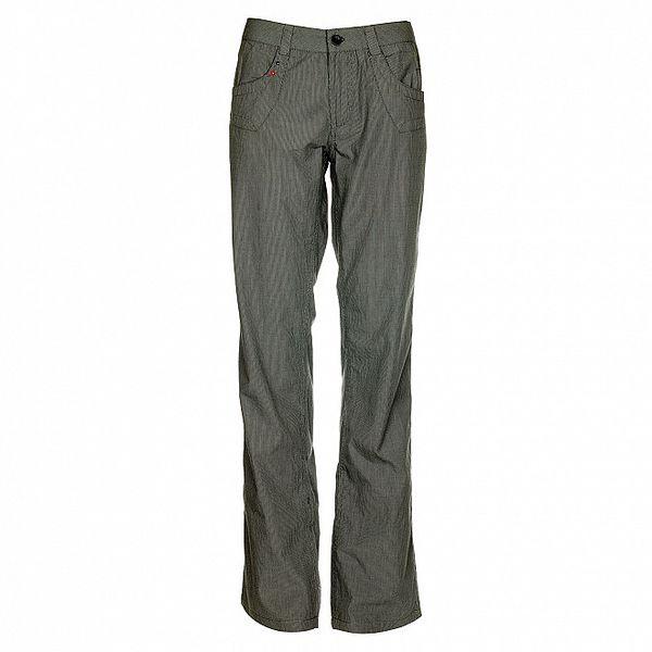 Dámské šedé proužkované kalhoty Loap