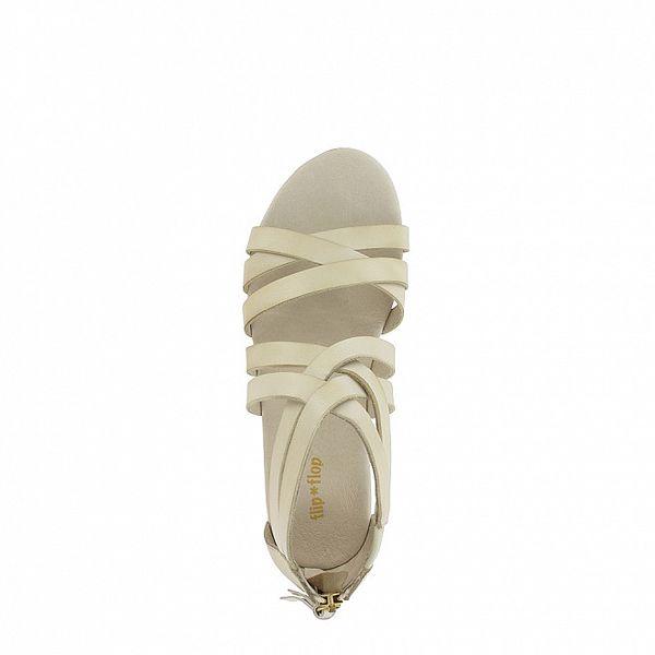 Dámske biele sandálky Flip Flop