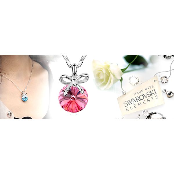 Šperk jako z pohádky: řetízek a přívěsek s krystaly Swarovski Crystallized!