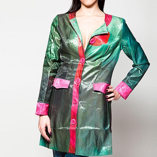 Zelený kabát Chaquetón Verde