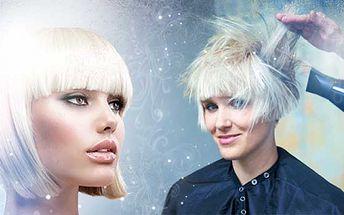 Kadeřnický balíček od luxusních 249 kč! Dopřejte si nový vzhled a vašim vlasům profesionální péči! V ceně: mytí, střih, regenerace, barva nebo melír, foukaná a závěrečný styling! Varianta i pro dlouhé vlasy a sleva 55%!