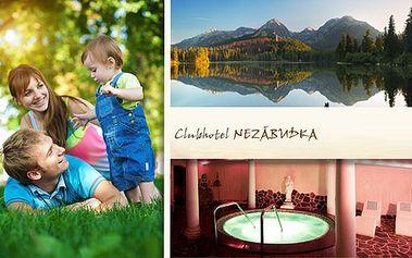 All Inclusive pobyt s wellness ve Vysokých Tatrách