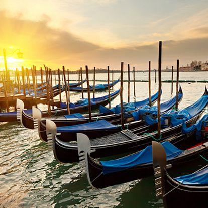 Romantický eurovíkend v Benátkách letecky na 4 dny