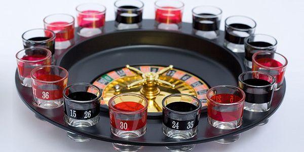 Alkoholová ruleta – skvělá společenská hra