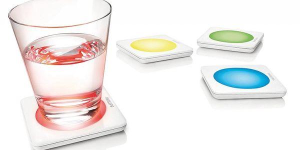 Sada 4 dekorativních podnosů na skleničky Philips 69154/11/PH