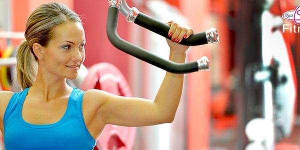 Půlroční členství ve fitness Olgy Šípkové - 2 pobočky