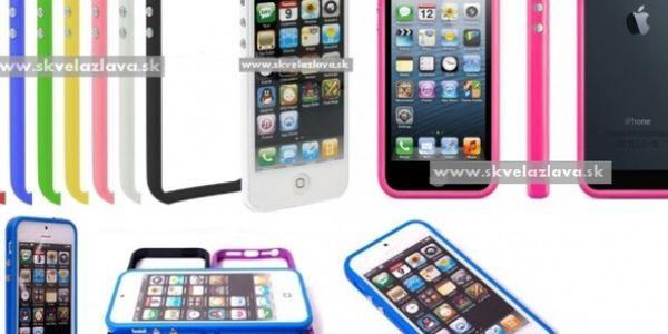 Ultratenký a štýlový bumper kryt v siedmich farbách určený pre iPhone 5 za 3,40 € vrátane poštovného!