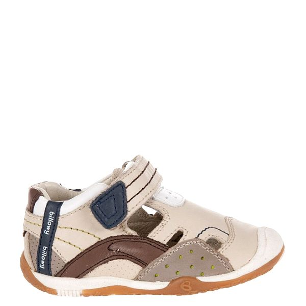 Detské svetlo béžové sandálky Billowy