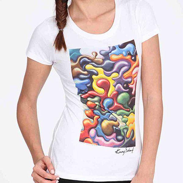 Bavlněné tričko Funny Smudges