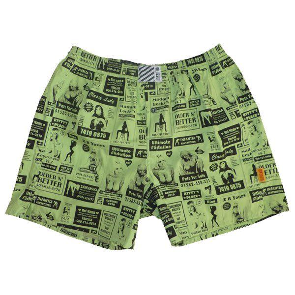 Pánské Trenýrky Infantia Hooker Green Classic