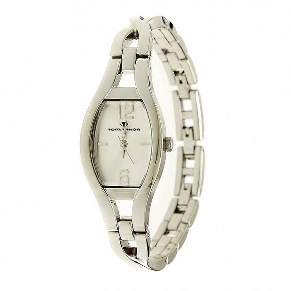 Dámské stříbrné náramkové analogové hodinky Tom Tailor