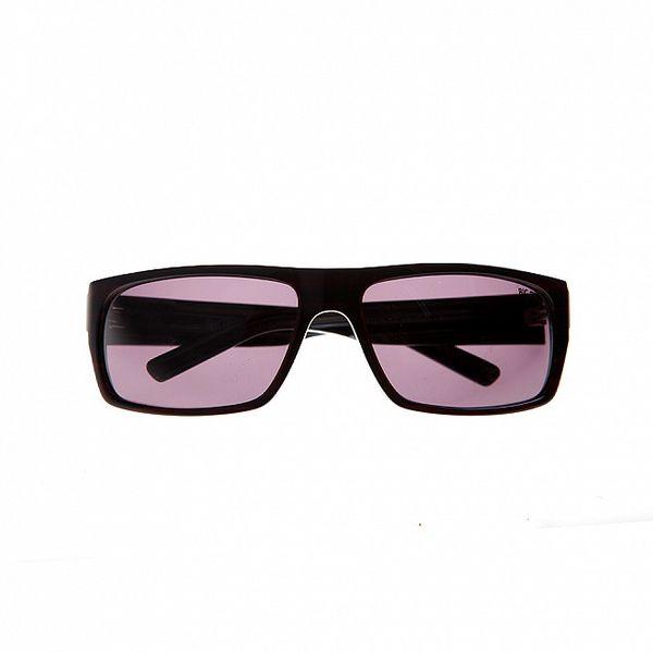 Pánske vínové slnečné okuliare Big Star s žíhanou kresbou