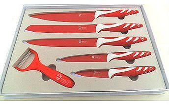 Sada pěti švýcarských titanových nožů s keramickou vrstvou!