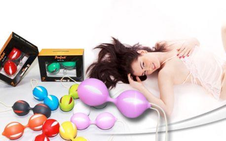 Diskrétní VENUŠINY KULIČKY pro ženy Smart balls za 199 Kč! Zažijte jedinečné pocity slasti a vzrušení a zároveň posilujte svaly pánevního dna! Vzrušující sleva 64%!