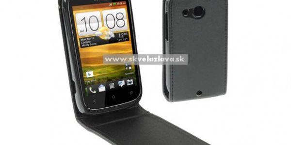 Elegantný výklopný obal pre HTC Desire C za 4,50 € vrátane poštovného!
