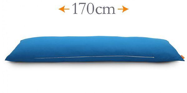 Polštář The Beast, modrý, vhodný pro kohokoli