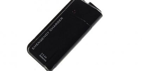 Nouzová nabíječka na cesty dobije Váš mobilní telefon kdykoli a kdekoli! Univerzální pro všechny telefony!!