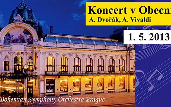 Bohemian Symphony Orchestra ve Sladkovského sále Obecního domu