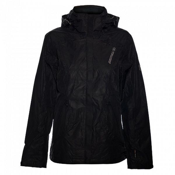 Dámská černá nepromokavá bunda Trimm