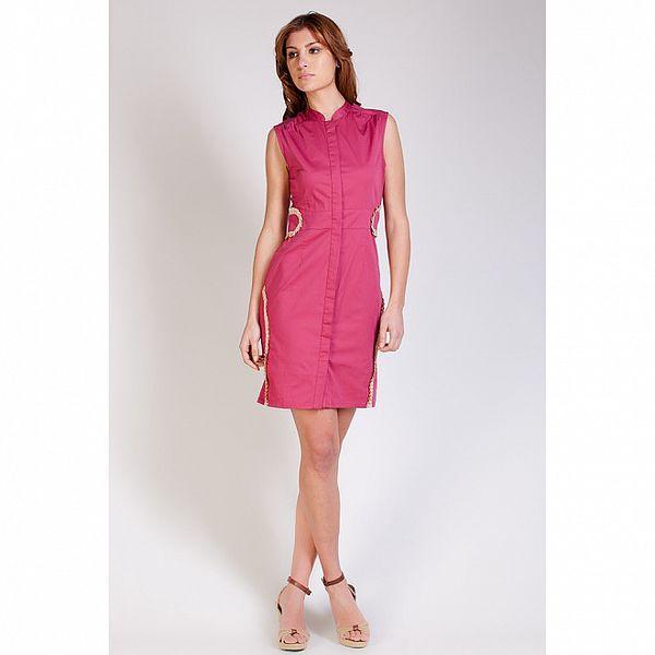 Dámské sytě růžové pouzdrové šaty Tonala