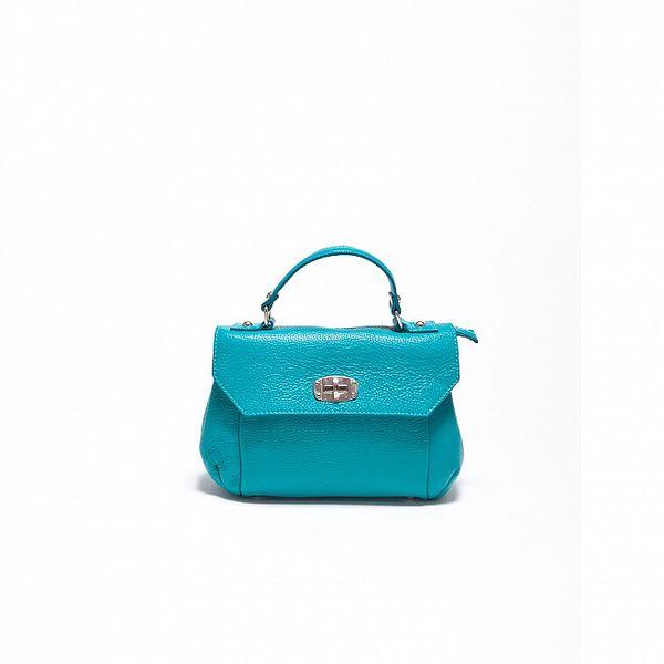 Dámska béžová kabelka s odopínateľným popruhom Carla Ferrari