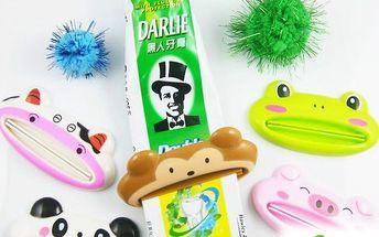 Pomůcka na vytlačování zubní pasty pro děti a poštovné ZDARMA! - 118