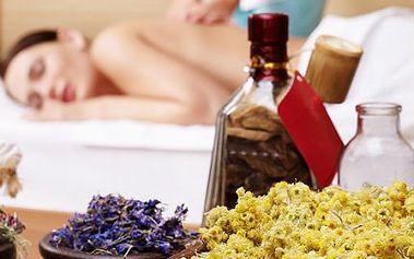 Aroma masáž zad - skořice či levandule + rašelinový zábal