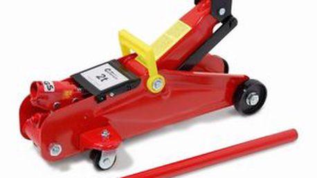 Hydraulický pojízdný hever - nosnost 2000 kg, zdvih 135 - 342 mm. Celková váha 8,5 kg