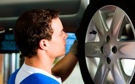 Přezutí 4 kol či pneumatik na osobním voze!