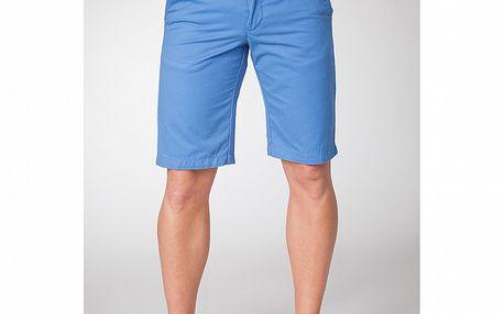 Pánské pastelově modré bermudy Bendorff