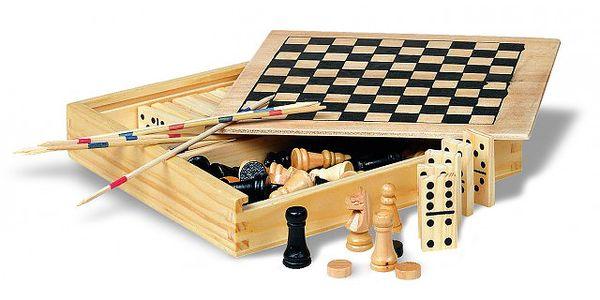 4 hry v dřevěné krabici jen za 149 Kč!