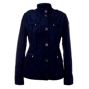 Dámsky tmavo modrý kabátik Refrigue