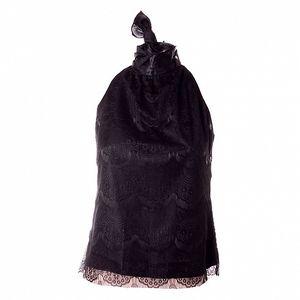 Dámský černý krajkový top Baby Phat