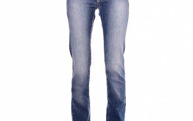 Dámske modré vyšisované džínsy Refrigue