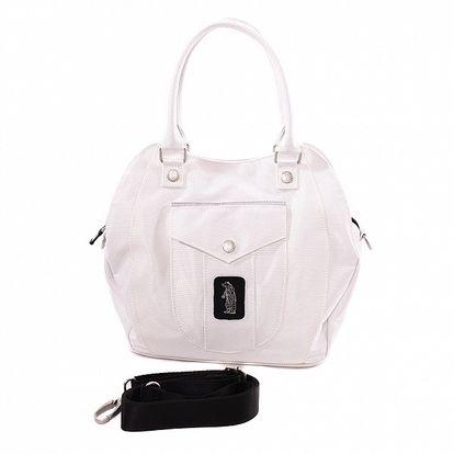 Dámská bílá taška s motivem medvěda Refrigue