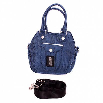 Dámská tmavě modrá kabelka s medvědem Refrigue
