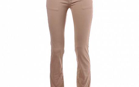 Dámské béžové skinny kalhoty Refrigue