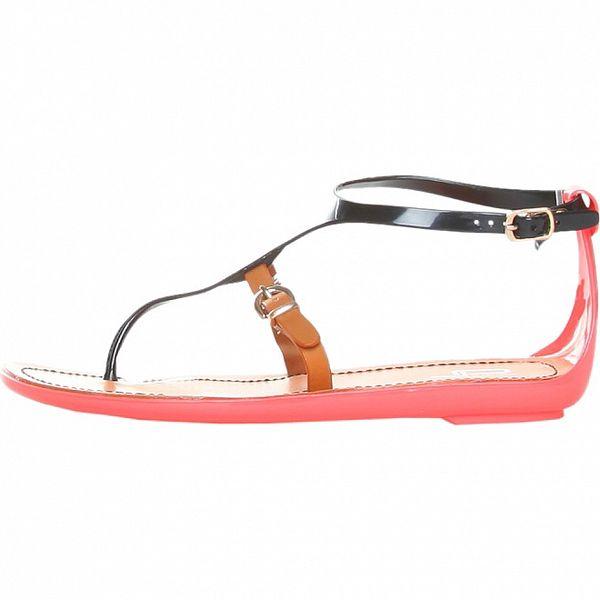 Dámské černé páskové sandály Ana Lublin