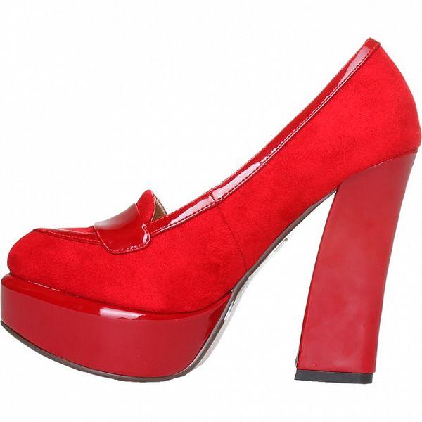 Elegantní červené lodičky Ana Lublin