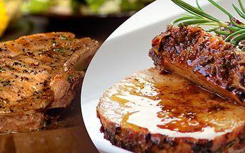 Vepřový steak nebo vepřová panenka pro dva s 50% slevou!